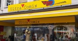 Schaufenster bei Ultra Comix, Vordere Sterngasse 2 in Nürnberg