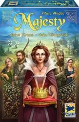 Schmidt Spiele 48275 Majesty: Deine Krone – Dein Königreich Strategiespiel - 1