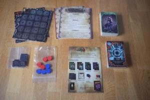 Dungeon Duel: Spielmaterial